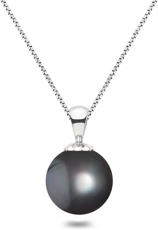 Black Japanese AAAA 5 ☆ very popular 6-13.5mm Very popular Freshwater N Cultured Pendant Pearl