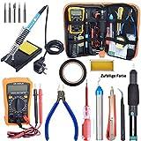 Fer à Souder kit, Electrique Kit de Soudage avec Boîte à Outils, Fer à Souder à température...