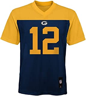 Outerstuff Aaron Rodgers Green Bay Packers #12 NFL Youth Alternate Jersey Navy