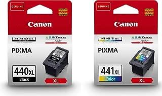 Canon 440xl Black & 441xl Color Ink Cartridge Set