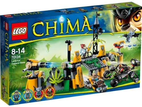 Lego–300512–Legenden von Chima Set–Spiel-Set–70134–BAU-Sset–Löwen-Basis aus fernen Ländern