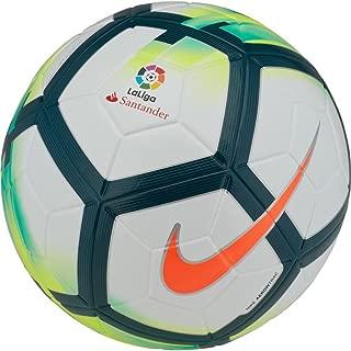 Ordem V Soccer Ball - La Liga 17/18 Official Match Ball White/Turquoise/Seaweed/Total Orange