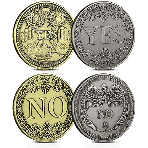 4 Monedas de Desafío YES NO 2 Monedas de Bronce de Decisión...