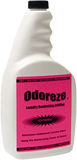 ODOREZE Natural Clothing Smell Removal Laundry Additive: Makes 64 Gal. to Clean Stinky Clothes