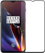 Aeidess Tempered Glass for OnePlus 6T / OnePlus 7 (Black)-Edge to Edge Full Screen Coverage
