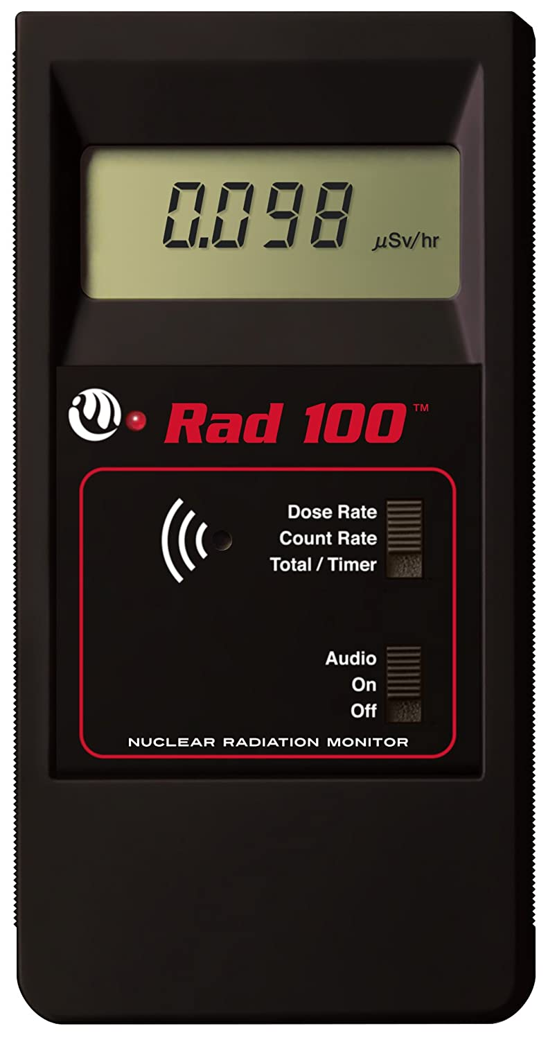 Rad 100 Daily bargain sale Product Professional Geiger Counter