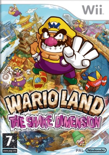WII WARIO LAND THE SHAKE DIMENSION