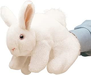 Folkmanis White Bunny Rabbit Hand Puppet