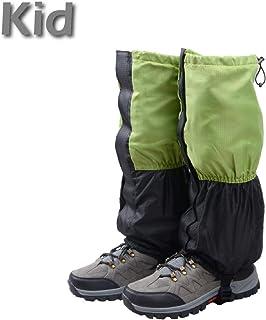 TRIWONDER Fleece-Lined Snow Leg Gaiters Waterproof Boot Gators Hiking Gaiters for Kids Men Women Lightweight Walking Climbing Hunting Cycling Leggings Cover