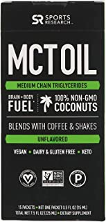 Premium MCT Oil derived only from Non-GMO Coconuts | Keto Fuel for The Body & Brain | Vegan Certified, Keto Friendly and N...