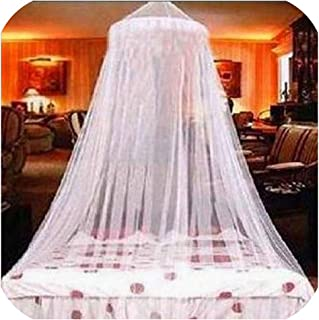 sunshine-xj Hanging Dome Mosquito Net Polyester Mosquito Repellent Tent Insect Reject Canopy Textile Bed Curtain Summer Bed Tent Mesh,White Mosquito Net