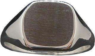 Anello da Uomo in Argento Massiccio Marchiato 925 Incisione Personalizzata R002120