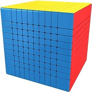 LiangCuber Moyu MoFang JiaoShi Meilong 10x10x10 stickerless Magic Cube MFJS MEILONG 10x10x10 Cubing Classroom 84mm Size Speed Cube Education Toys