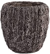 Little Green House Cement Brown Vase - XL