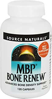 SOURCE NATURALS Mbp Bone Renew Capsule, 120 Count