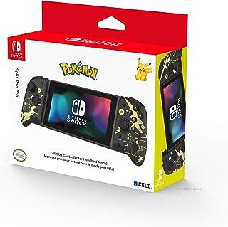 HORI Nintendo Switch Split Pad Pro, Pokémon Black and Gold Pikachu - Nintendo Switch Accessories - Black & Gold Pikachu Ed...