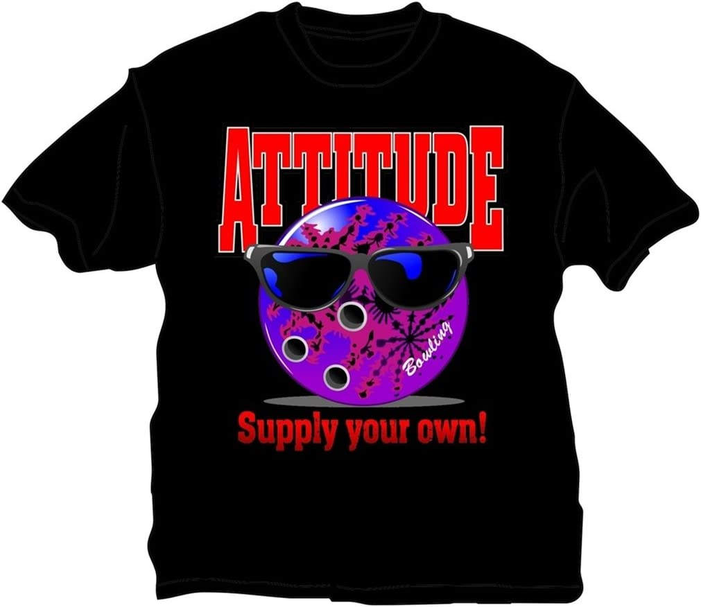 SEAL limited product Bowlerstore Products Bowling T-Shirt- Black Max 54% OFF Attitude