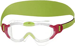 Speedo Junior Sea Squad Mask Goggles - Clear/Pink, One Size