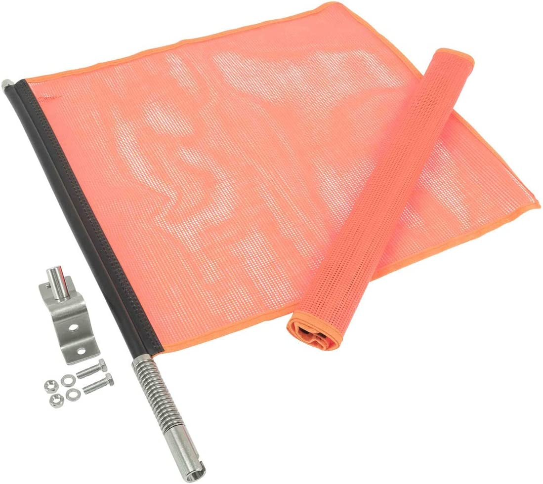 Mytee Products Fixed price for sale EZ Mount Inexpensive Warning Flag Safet 18
