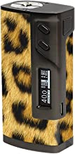 Skin Decal Vinyl Wrap for Sigelei 213W TC Temp Control Vape Mod Skins Stickers Cover / Cheetah print