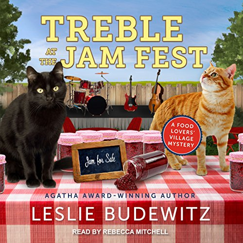 Treble at the Jam Fest audiobook cover art