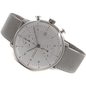 ユンハンス マックスビル クロノスコープ クロノグラフ 腕時計 メンズ JUNGHANS 027/4003.44 [並行輸入品]