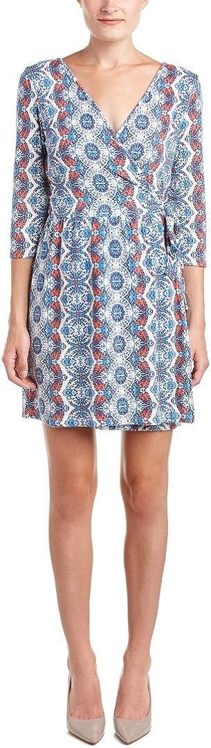 Tart Collections Women's Isabella Surplice Wrap Printed Dress