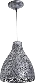 Lussiol 250260 - Lámpara de techo (metal, 40 W, 28 x 32 cm), color gris