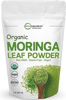 Moringa Powder Organic (Moringa Oleifera Leaf Powder), 2 Pounds, Rich in Antioxidants and..