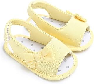 d7989f8a Zapatos de bebé, niño recién Nacido niña Suave único Bowknot Cuna Prewalker  Zapato