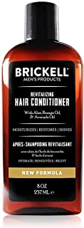 Brickell Men's Revitalizing Hair Conditioner for Men, Natural and Organic Nourishing Hair Conditioner, Restores Shine and ...