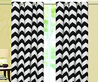 Empire Home Chevron 100% Thermal Insulated Blackout Grommet Window Curtain BLOCKS ALL LIGHT GUARANTEED - All Sizes - New Arrival Sale!!! (108