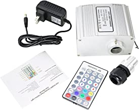 10W LED RGBW Twinkle Light Source Engine with RF 28 Key Remote for Fiber Optic Star Ceiling Kit