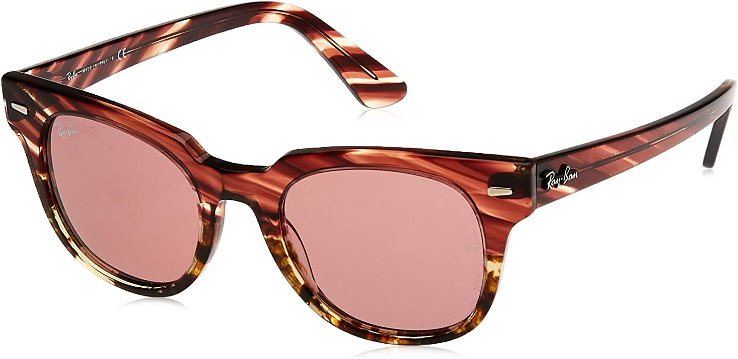 Ray-Ban Montures de Lunettes Mixte Rose (Pink Gradient Beige Stripped)