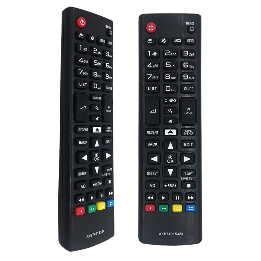 LG AKB74915324 - Mando a distancia negro: Amazon.es: Electrónica