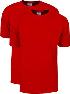 Shaka Wear Men's 2Pack Max Heavy Weight 7 oz. Cotton Short Sleeve T-Shirt