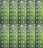 100 Pack LOOPACELL AG3 LR41 392 SR41SW 384 192 V384 V392 D384 D392 280-13 Alkaline Button Cell Battery