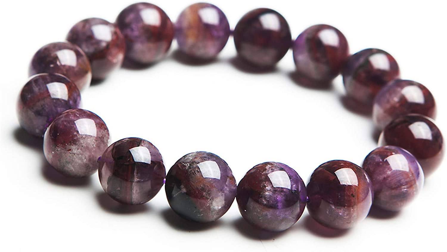 Super sale Muko Gemstone Natural Auralite 23 Clear New product!! Crystal Wome Beads Round