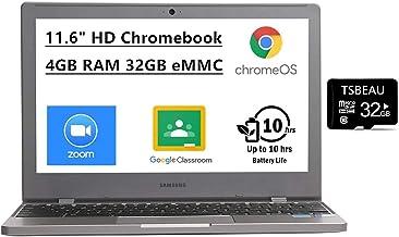 """Samsung Chromebook 4 11.6"""" HD Laptop, Intel Celeron Processor N4000, 4GB RAM 32GB eMMC, Gigabit Wi-Fi,Bluetooth, Chrome OS..."""