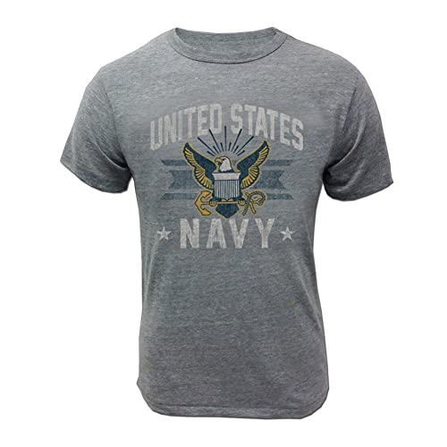 1dc86addb Armed Forces Gear Men's US Navy Vintage Basic T-Shirt