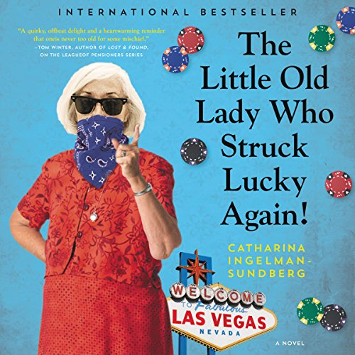 The Little Old Lady Who Struck Lucky Again! audiobook cover art