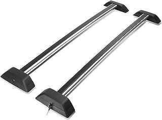DNA Motoring 4X4-T124 Aluminum Roof Rack Cross Bars [for 06-10 Hummer H3/H3T]