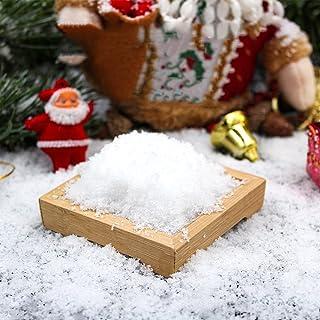 Nep Sneeuw Instant Sneeuwpoeder Pluizige Realistische Kunstmatige Sneeuw Zorg Voor Kunstmatige Sneeuw Voor Kinderen, Vrien...
