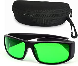 LVJING Indoor Grow Light Glasses, Color Correction, Protective Goggles Against UV, IR Rays, for Indoor Gardens Greenhouses Hydroponics