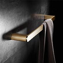 CBXSF Licht Luxe Messing Geborsteld Goud Handdoekenrek Badkamer Handdoekrek Hotel Villa Handdoek Staaf Muur Opknoping Badk...