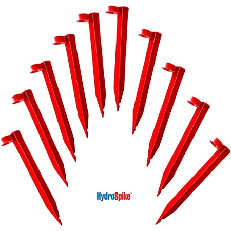 """10//50//100 Pcs Irrigation Support Stakes for 1//4/"""" Tubing Hose for Dripper M NEW"""