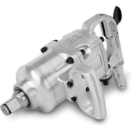 """EBERTH 1"""" Avvitatore pneumatico professionale (1620 Nm, 1/2"""" Raccordo aria compressa, Meccanismo a doppio impatto, Rotazione destra e sinistra)"""