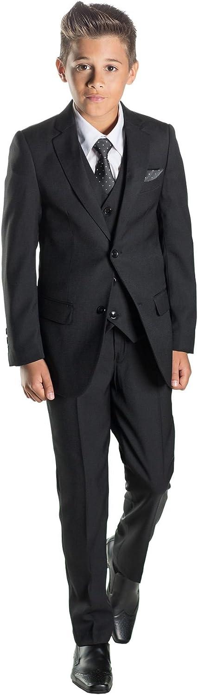 0b9efd9671c14c Paisley of London Jungen Schwarz Anzug, Jungen Page Boy Anzüge, Jungen  Hochzeit passt,