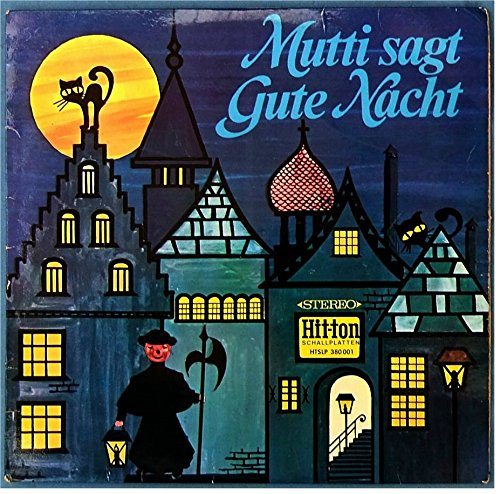 HOFFMANN, ADELE / Mutti sagt Gute Nacht 1. Folge / 1966 / Bildhülle / SONDERSERIE / Hit-ton # HTSLP 380001 / Deutsche Pressung / 12