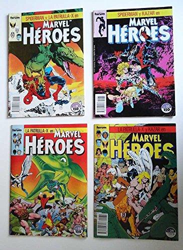 Spiderman y la Patrulla-X en Marvel Héroes. ¡Rápido descenso al infierno! Cómics forum, 31